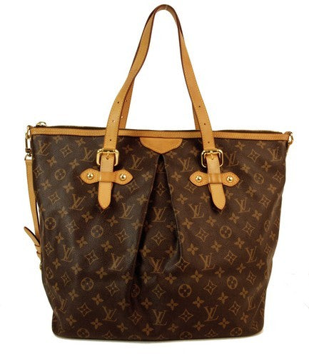 Louis Vuitton Palermo GM Handbag (Authentic Pre Owned)