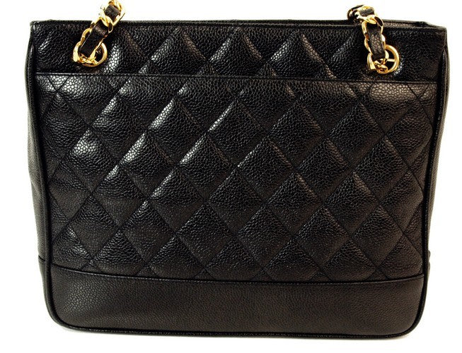 Chanel Caviar Leather Handbag (Authentic Pre Owned)