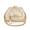 Marc Jacobs Gold Baby Stam Leather Handbag (Pre Owned)