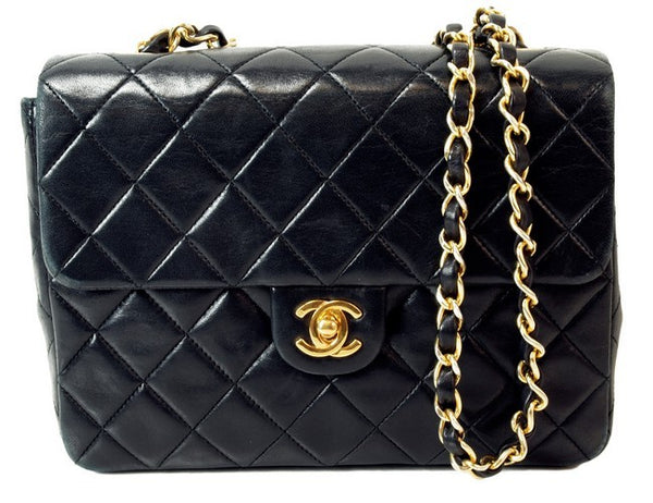 Chanel 2.55 Flap Leather Handbag (Authentic Pre Owned)