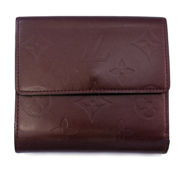 Louis Vuitton Mat Portefeuille Elise Wallet (Authentic Pre Owned)