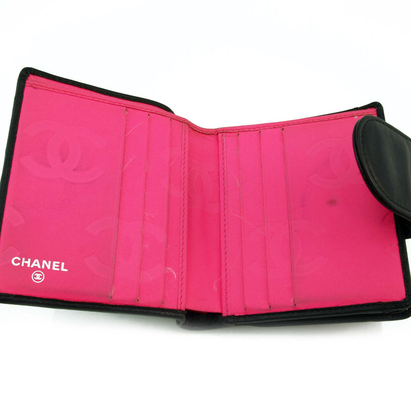 Chanel Short Black Cambon Wallet (Authentic Pre Owned)