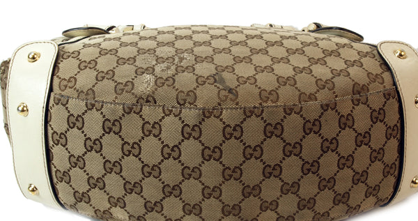 Gucci Pelham Leather Handbag (Authentic Pre Owned)