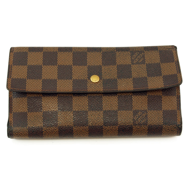 Louis Vuitton Damier Long Wallet (Authentic Pre Owned)