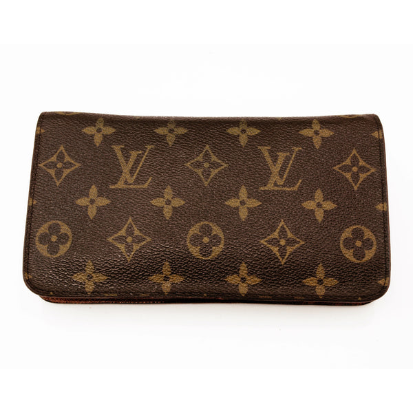 Louis Vuitton Monogram Zippy Long Wallet (Authentic Pre Owned)