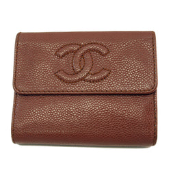 Chanel Brown Caviar Wallet (Authentic Pre Owned)