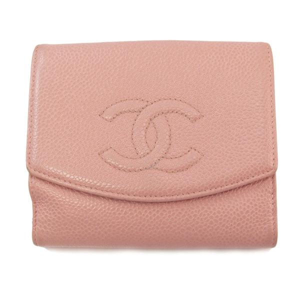 Pink Chanel Caviar Wallet (Authentic Pre Owned)