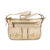 Marc Jacobs Gold Cammie Leather Handbag (Pre Owned)