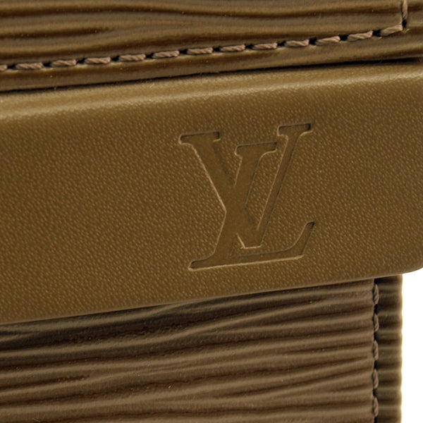 Louis Vuitton Taupe Epi Messenger Leather Handbag (Authentic Pre Owned)