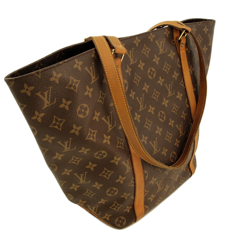 Louis Vuitton Sac Shopping Leather Handbag (Authentic Pre Owned)