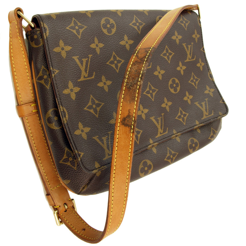 Louis Vuitton Musette Tango leather (Authentic Pre Owned)
