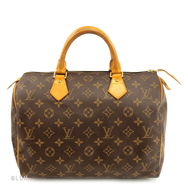 Louis Vuitton Speedy 30 Handbag (Authentic Pre Owned)