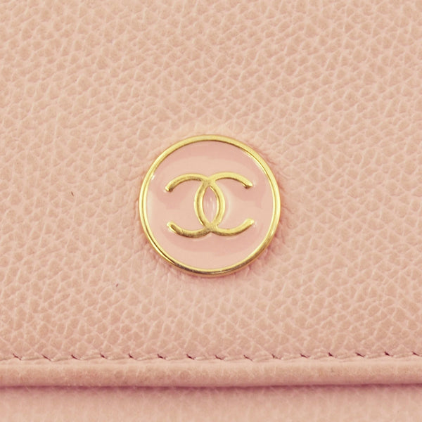 Chanel Lavender Caviar Wallet (Authentic Pre Owned)