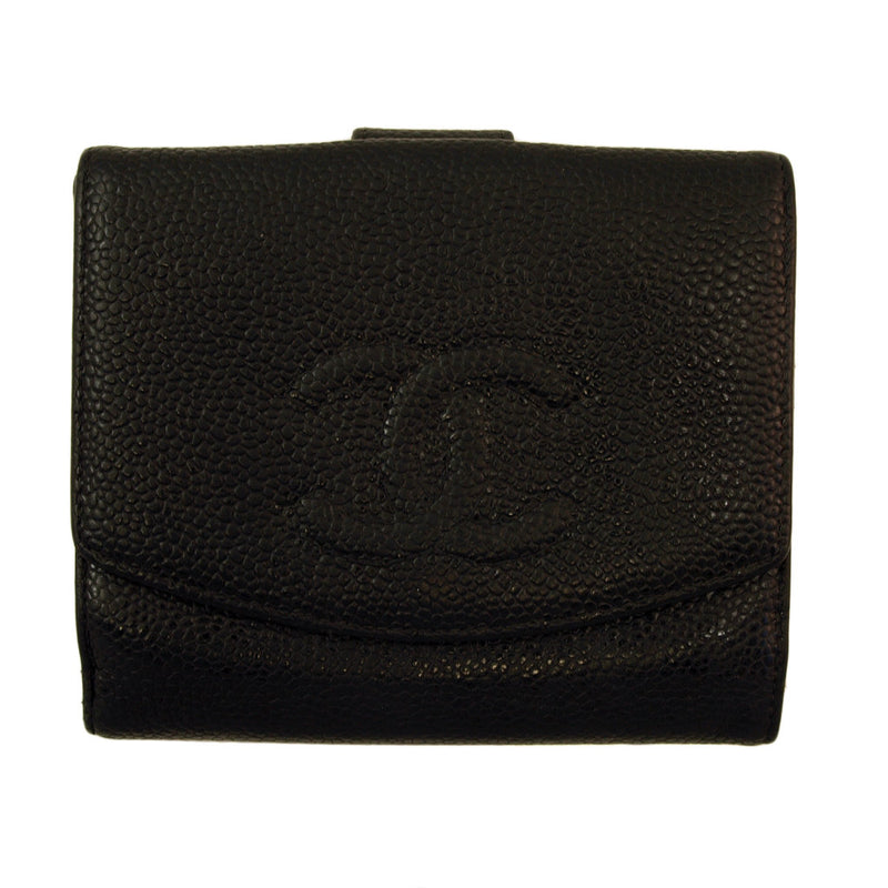 Chanel Black Caviar Wallet (Authentic Pre Owned)