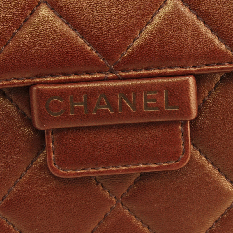 Chanel Quilted Burgundy Leather Handbag (Authentic Pre Owned)