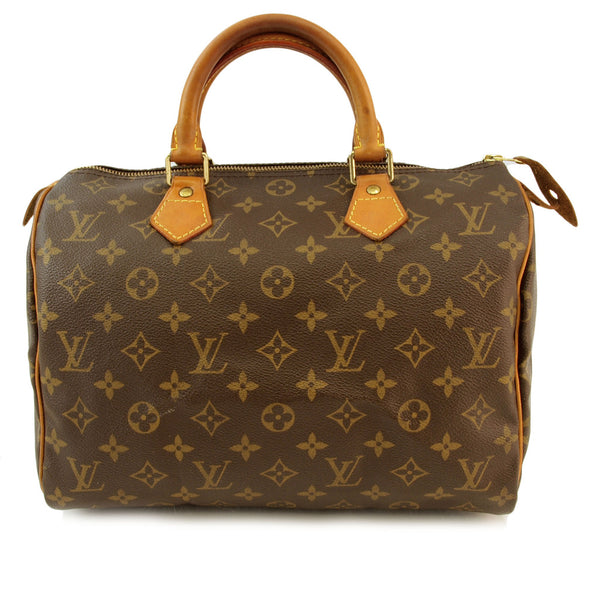 Louis Vuitton Monogram Speedy 30 Handbag (Authentic Pre Owned)