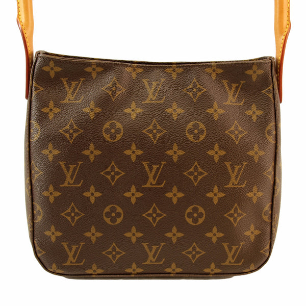 Louis Vuitton Looping Monogram MM Handbag (Authentic Pre Owned)