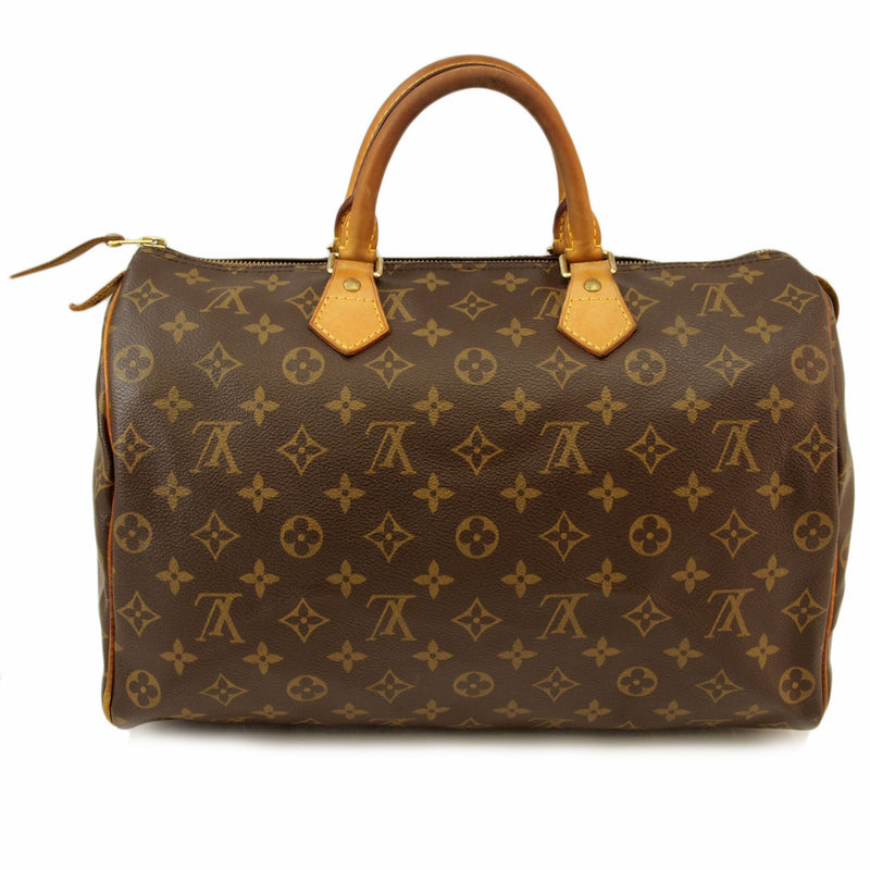 Louis Vuitton Monogram Speedy 35 Handbag (Authentic Pre Owned)