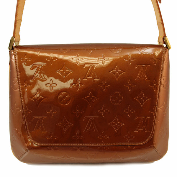 Louis Vuitton vernis Musette Tango Leather Handbag (Authentic Pre Owned)
