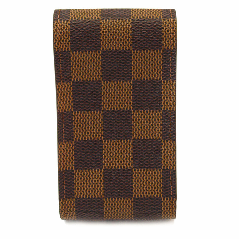 Louis Vuitton Damier Ebene Phone Case Handbag (Authentic Pre Owned)