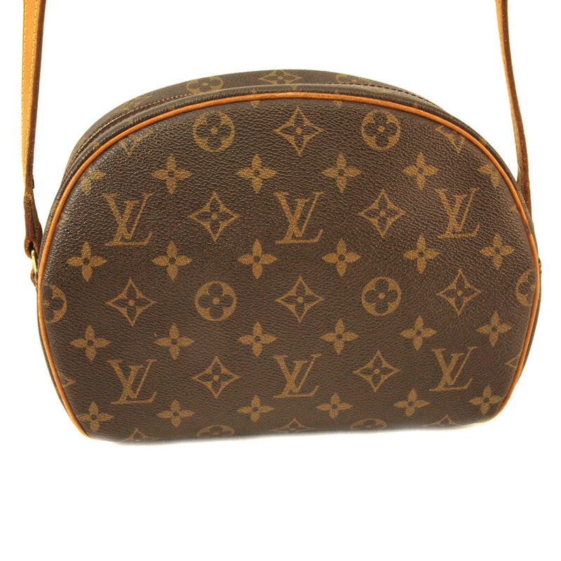 Louis Vuitton Blois Leather Handbag (Authentic Pre Owned)