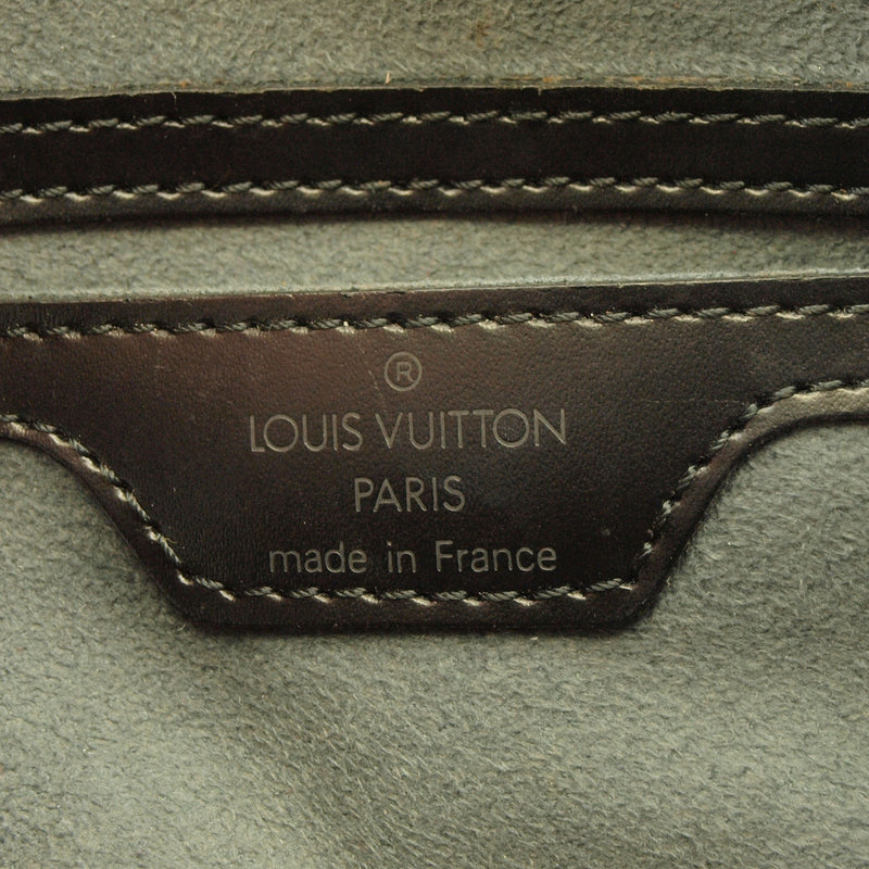 Louis Vuitton Black Epi Papillon Leather Handbag (Authentic Pre Owned)