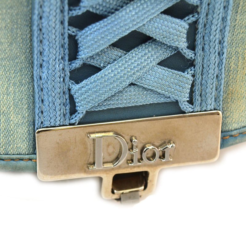 Dior Blue Denim Handbag (Authentic Pre Owned)
