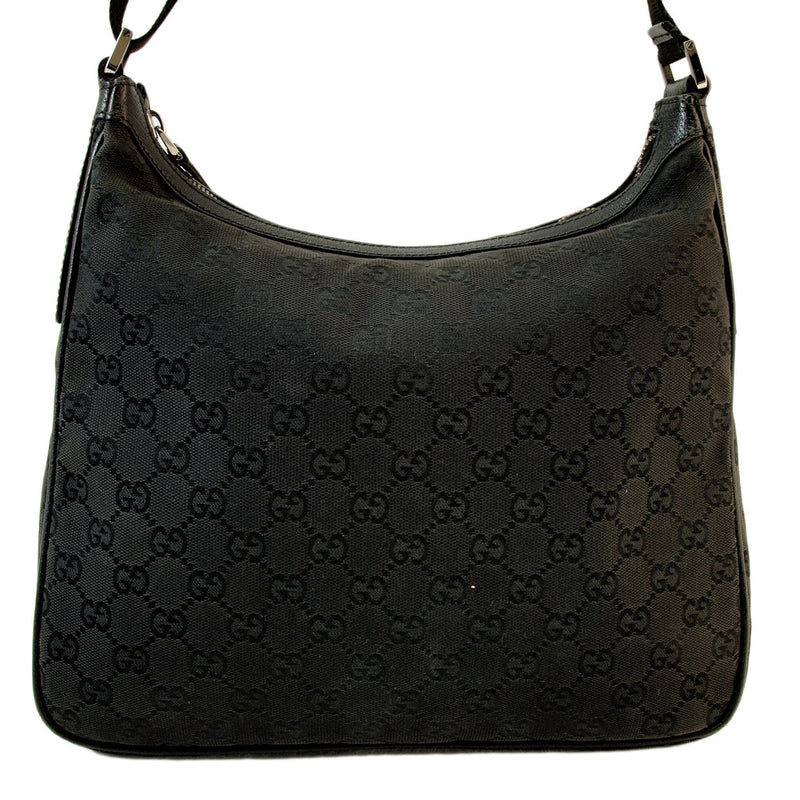 Gucci Black Messenger Handbag (Authentic Pre Owned)