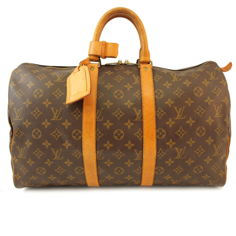Louis Vuitton Keepall 45 Handbag (Authentic Pre Owned)