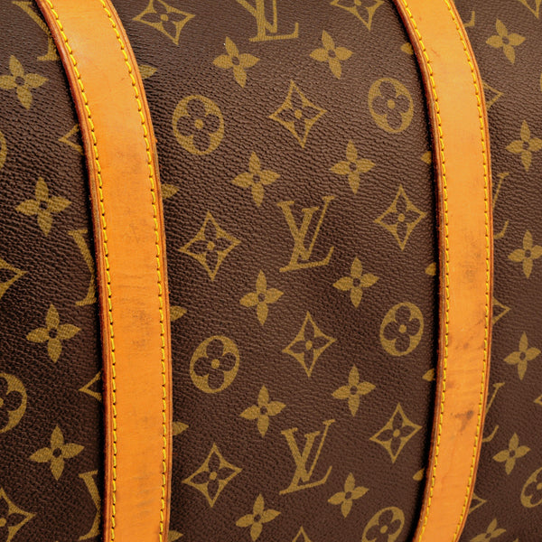 Louis Vuitton Keepall 55 Handbag (Authentic Pre Owned)