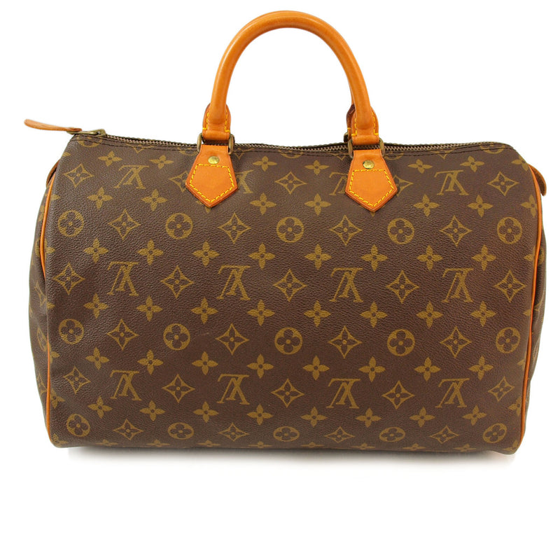 Louis Vuitton Monogram Speedy 35 (Authentic Pre Owned)