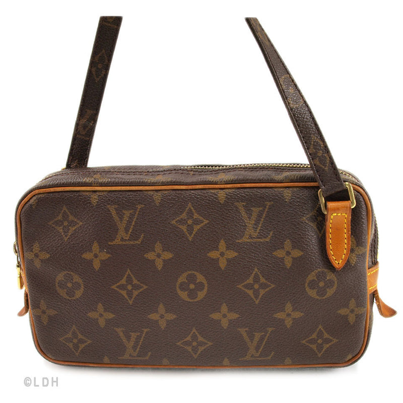 Louis Vuitton Monogram Pochette Marly Bandouliere Handbag (Authentic Pre Owned)