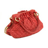 Marc Jacobs Red Small Cecilia Leather Handbag (Authentic Pre Owned)