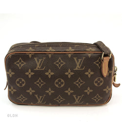 Louis Vuitton Monogram Pochette Marly Handbag (Authentic Pre Owned)
