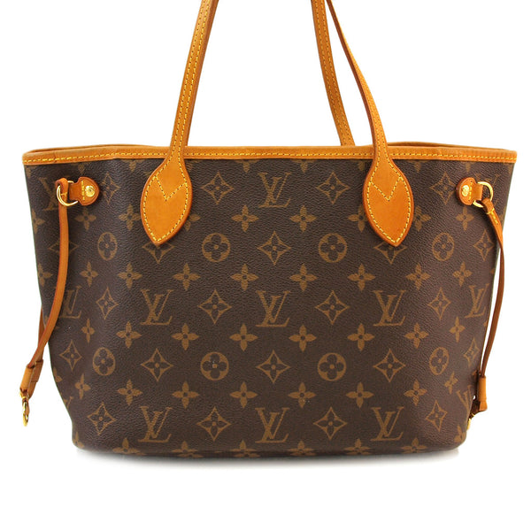 Louis Vuitton Monogram Neverfull Pm Handbag (Authentic Pre Owned)