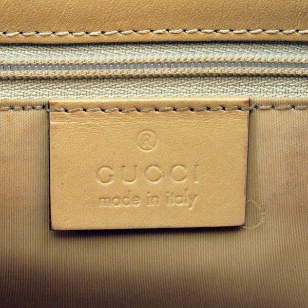 Gucci Jackie O Hobo Leather Handbag (Authentic Pre Owned)