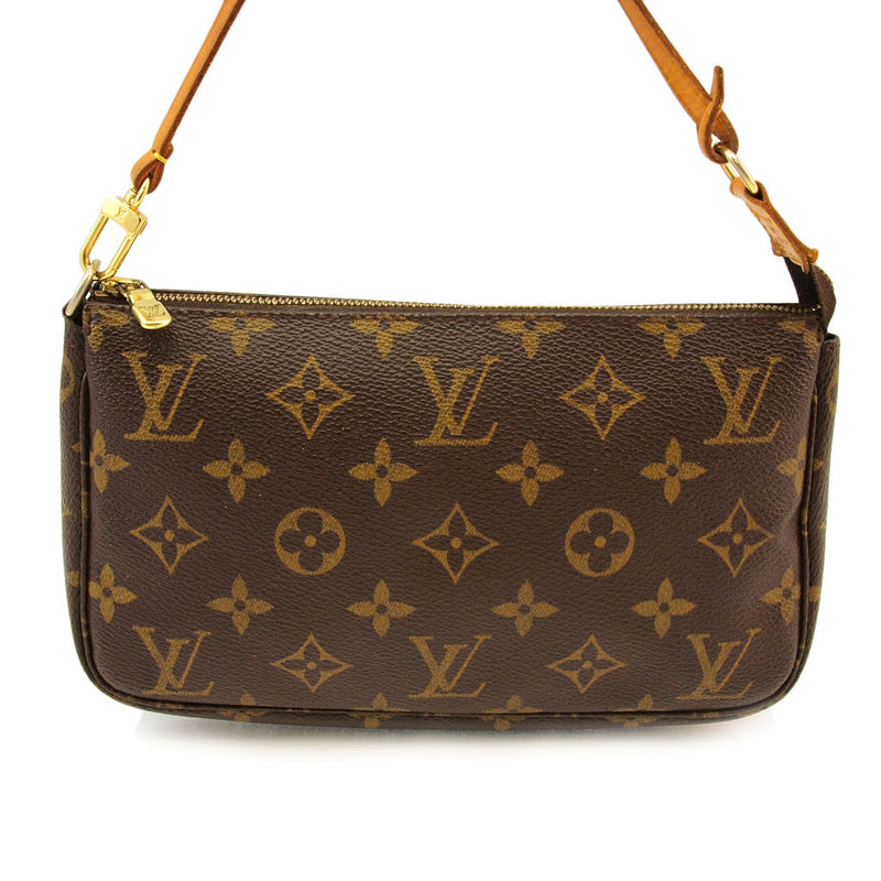Louis Vuitton Cosmetic Pouch with Strap (Authentic Pre Owned)