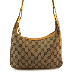 Gucci Monogram Shoulder Handbag (Authentic Pre Owned)