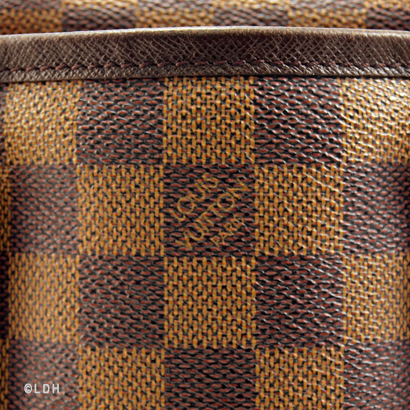 Louis Vuitton Damier Bucket and Pouch (Authentic Pre Owned)