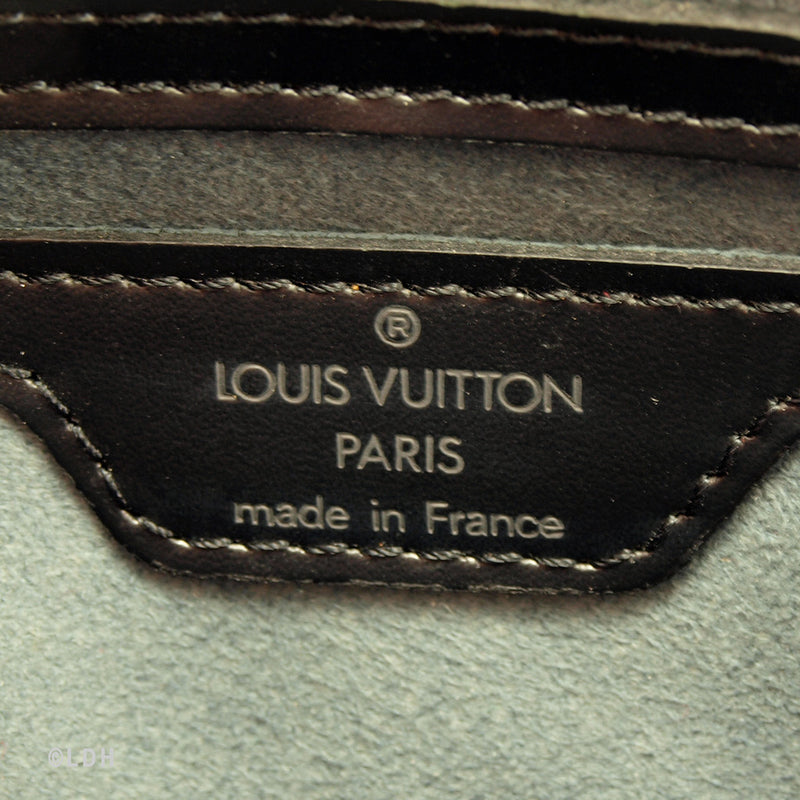 Louis Vuitton Black Epi St. Jacques (Authentic Pre Owned)