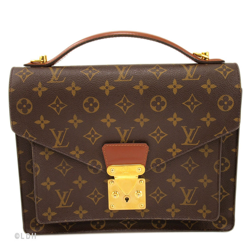 Louis Vuitton Monogram Monceau (Authentic Pre Owned)