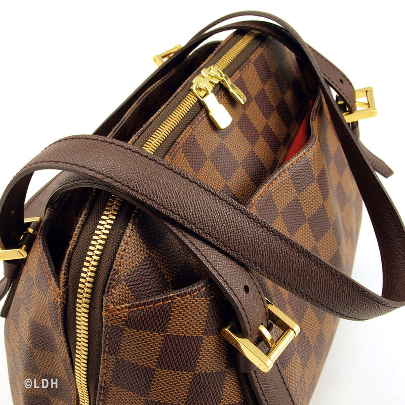 Louis Vuitton Damier Ebene Belem MM (Authentic Pre Owned)