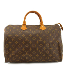 Louis Vuitton Mono Speedy 35 (Authentic Pre Owned)