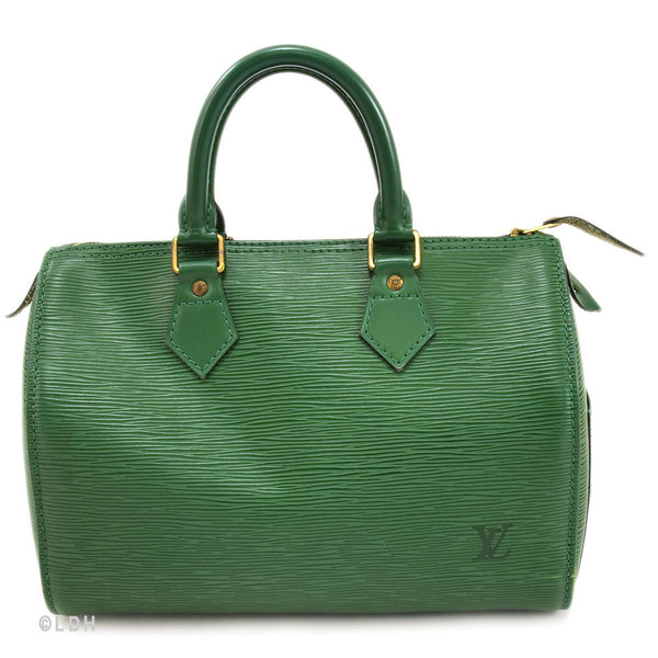 Louis Vuitton Green Epi Speedy 25 (Authentic Pre Owned)