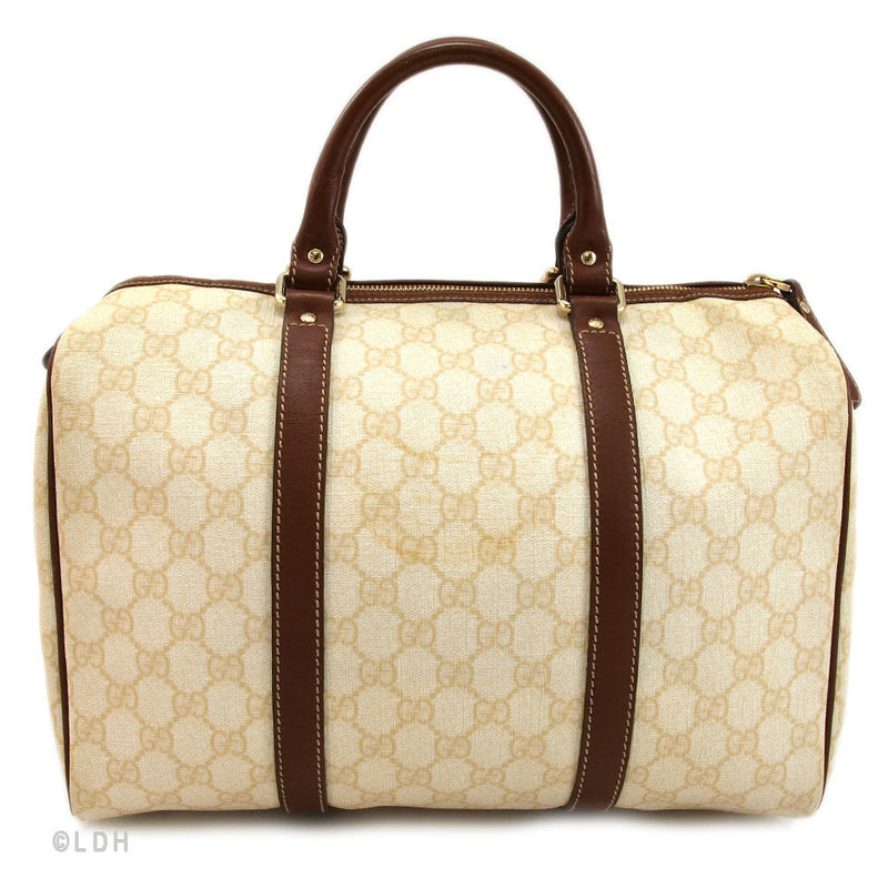 Gucci Beige Reporter Monogram (Authentic Pre Owned)