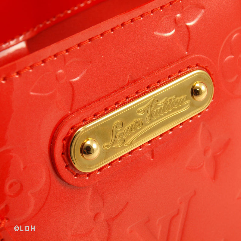 Louis Vuitton Red Vernis Wilshire PM (Authentic Pre Owned)