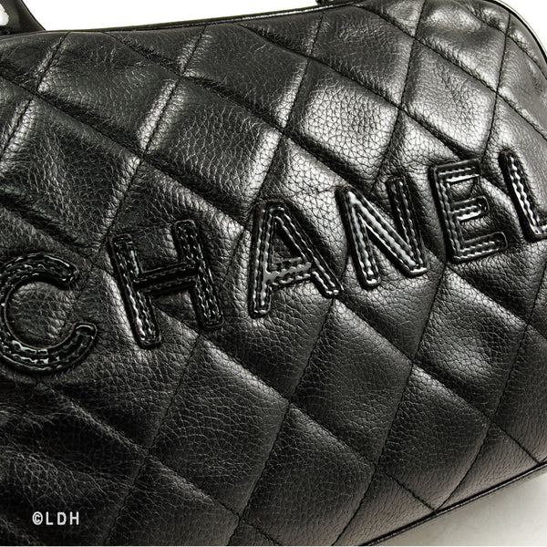 Chanel Bowler Caviar Leather (Authentic Pre Owned)
