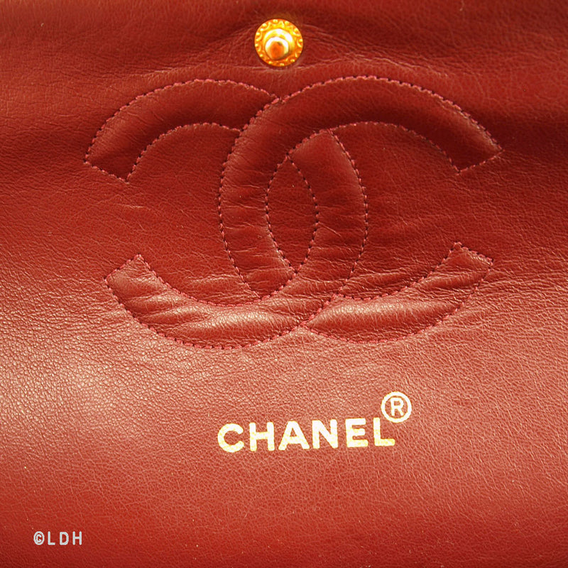 Chanel Quilted Lambskin Double Flap 2.55 (Pre Owned)