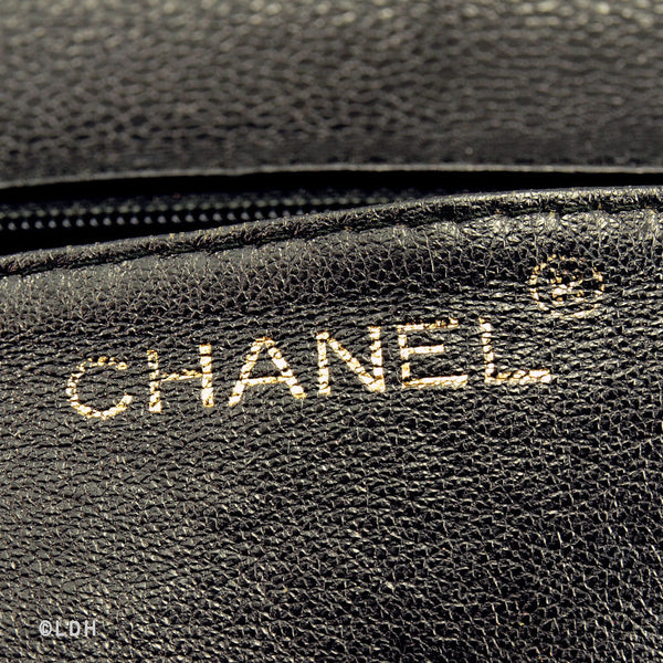 Chanel Caviar Jumbo Kelly (Authentic Pre Owned)