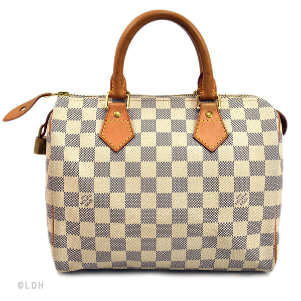Louis Vuitton Azur Speedy 25 (Authentic Pre Owned)
